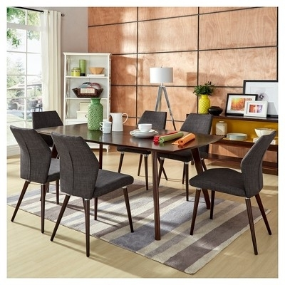 Chapleau Ii 7 Piece Extension Dining Tables With Side Chairs With Regard To Best And Newest Have To Have It (View 4 of 20)