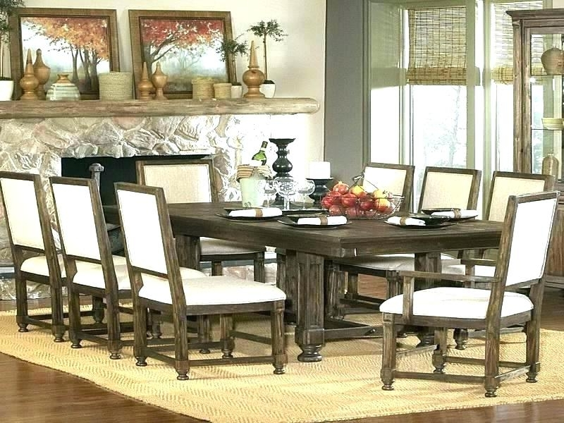 Chapleau Ii 9 Piece Extension Dining Tables With Side Chairs Intended For Most Current Imágenes De 9 Piece Dining Room Sets Cheap (View 19 of 20)