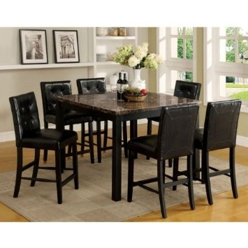 Cheap Counter Height Marble Table, Find Counter Height Marble Table Regarding Fashionable Cora 7 Piece Dining Sets (View 9 of 20)