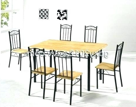 Cheap Dining Sets Regarding Most Recent Cheap White Dining Table And Chairs Small Tables Oak Luxury Grey T (View 7 of 20)