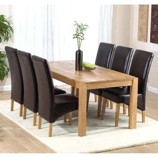 Cheap Dining Table With 6 Chairs Dining Room Miraculous 6 Dining In Latest 6 Chairs And Dining Tables (View 9 of 20)