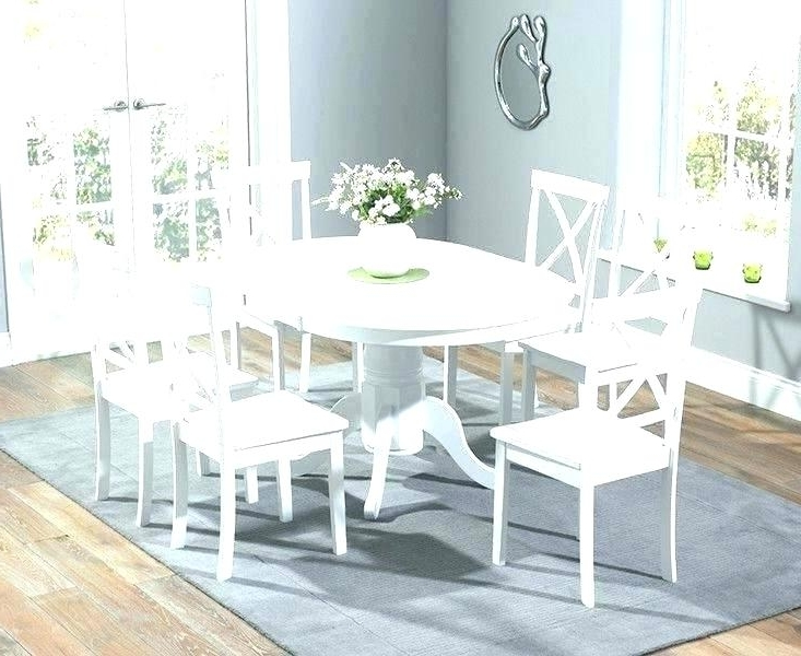 Cheap Extending Dining Table And Chairs Full Size Of Round White Regarding Well Known White Extending Dining Tables And Chairs (View 3 of 20)