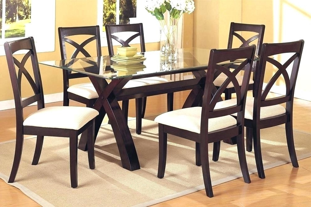 Cheap Glass Dining Tables And 6 Chairs In 2018 Cheap Glass Dining Table Sets Small For 4 Furniture Round And Chairs (View 12 of 20)
