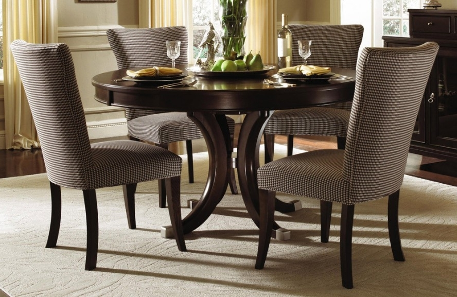 Cheap Round Dining Tables For Well Liked Round Kitchen Table Ashley Furniture — Batchelor Resort Home Ideas (View 2 of 20)