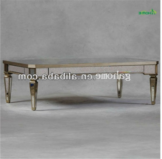 China Glass Material Modern Mirrored Dining Table – China Dining Regarding Recent Mirrored Dining Tables (View 4 of 20)