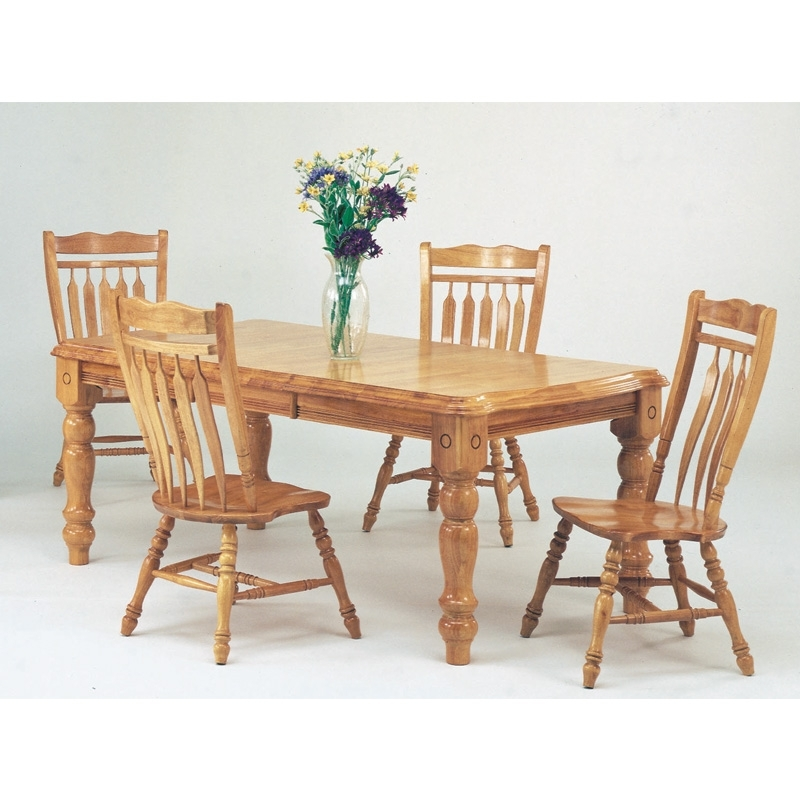 Choice Furniture Inside Trendy Jaxon 5 Piece Extension Round Dining Sets With Wood Chairs (View 4 of 20)