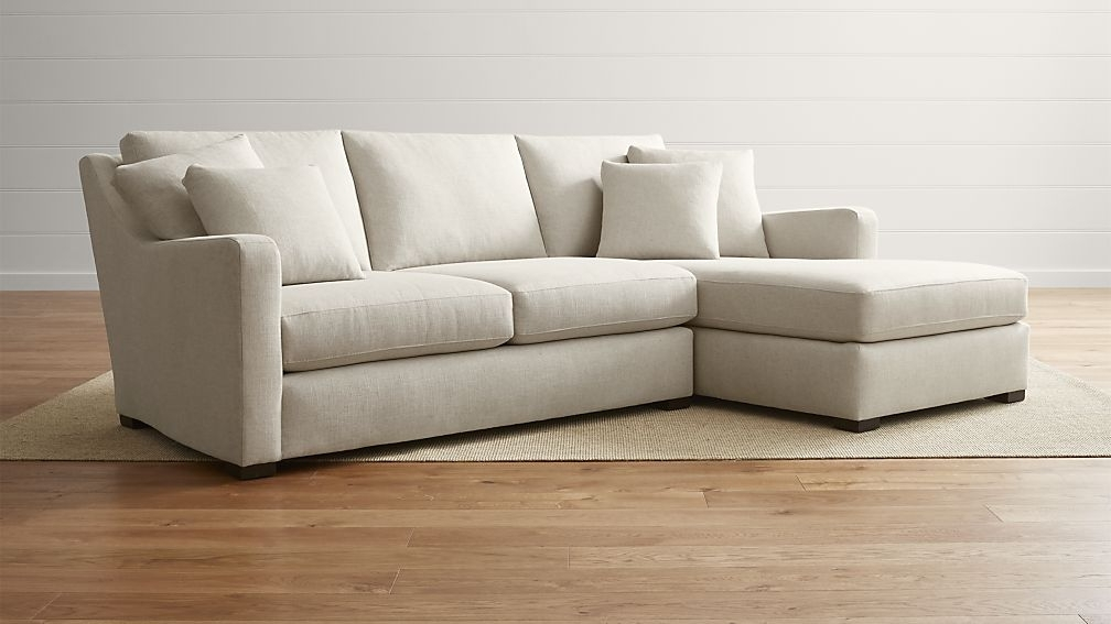 Choosing 2 Piece Sectional Sofa – Elites Home Decor With Regard To Current Aurora 2 Piece Sectionals (View 15 of 15)