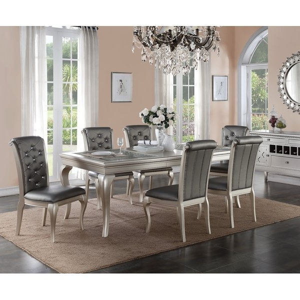 Choosing The Right 7 Piece Dining Set – Goodworksfurniture Inside Popular Partridge 7 Piece Dining Sets (View 6 of 20)