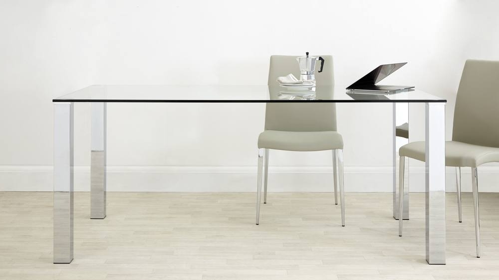 Featured Photo of Chrome Glass Dining Tables