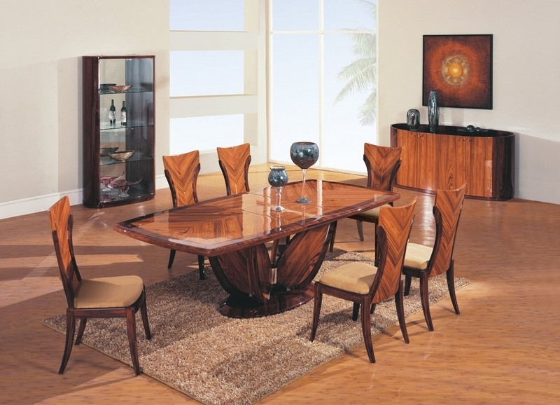 Cintia – 5Pc Modern Dining Set Glass Table & 4 Black Chairs D88Dt Bl Throughout Most Recently Released Ebay Dining Suites (View 4 of 20)