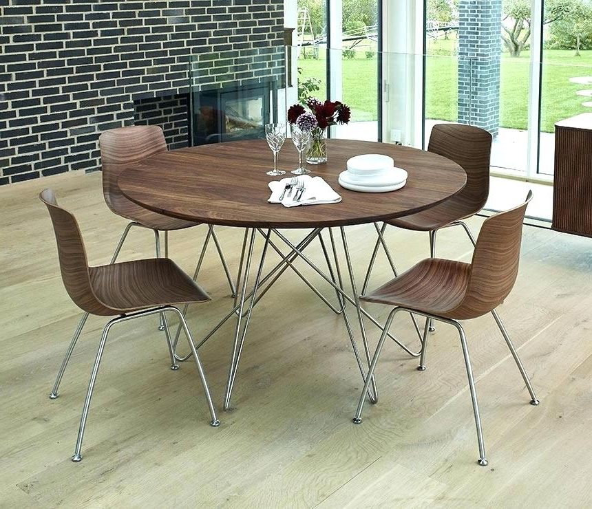 Circle Dining Table Set Half Round Dining Table Circle Kitchen Regarding Most Up To Date Circle Dining Tables (View 2 of 20)