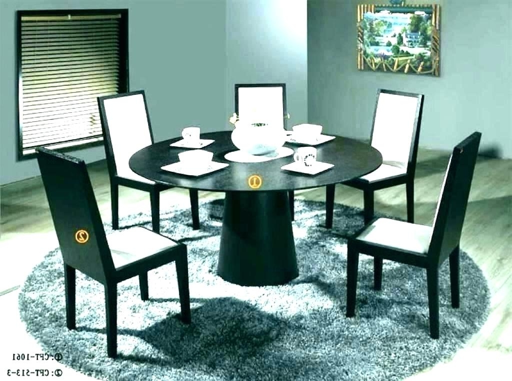 Circular Dining Table For Circular Kitchen Table Black Circle Dining Regarding Latest Black Circular Dining Tables (View 11 of 20)