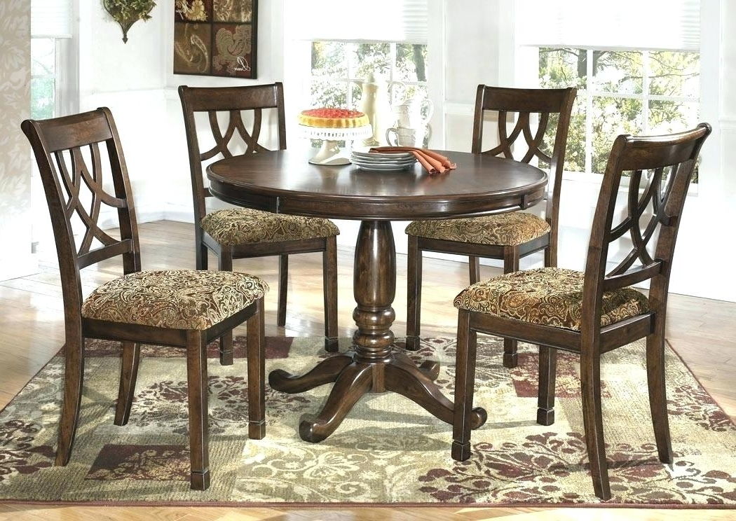 Circular Dining Tables For 4 With Most Up To Date Round Wooden Dining Table For 4 Circle Dining Table Set Trend Round (View 6 of 20)