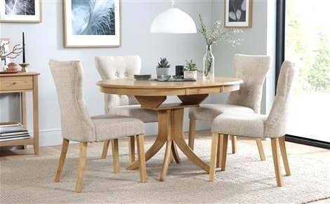 Circular Dining Tables For 4 Within Most Current Extendable Round Dining Table Gorgeous Attractive Round Extendable (View 7 of 20)