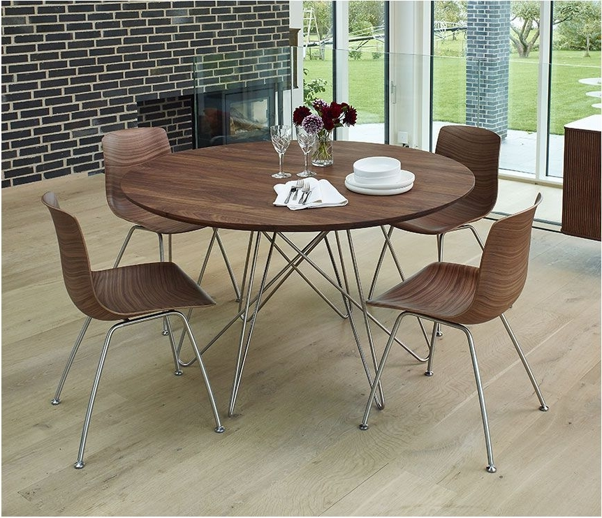 Circular Dining Tables With Regard To Recent Brilliant Amazon Track Circular Dining Table Black Tables – Circular (View 20 of 20)