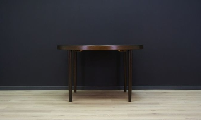 Circular Oak Dining Tables Inside Well Liked Vintage Danish Circular Oak Dining Table For Sale At Pamono (View 4 of 20)