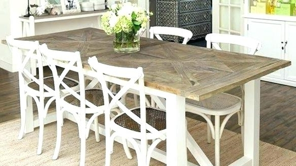 Coastal Dining Tables Within 2017 Beach Dining Table Astounding Beach Dining Table On Room Sets Tables (View 15 of 20)