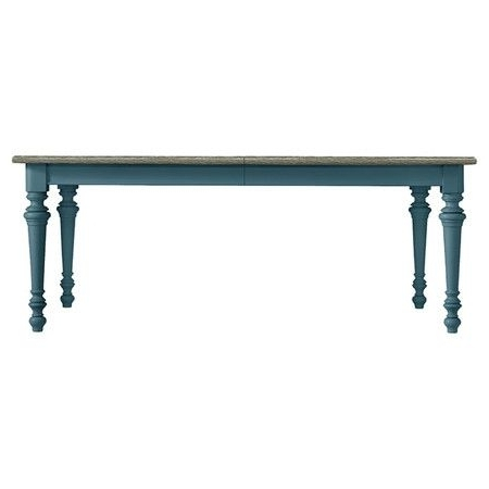 Coastal Living Retreat Dining Table In English Blue (View 5 of 20)