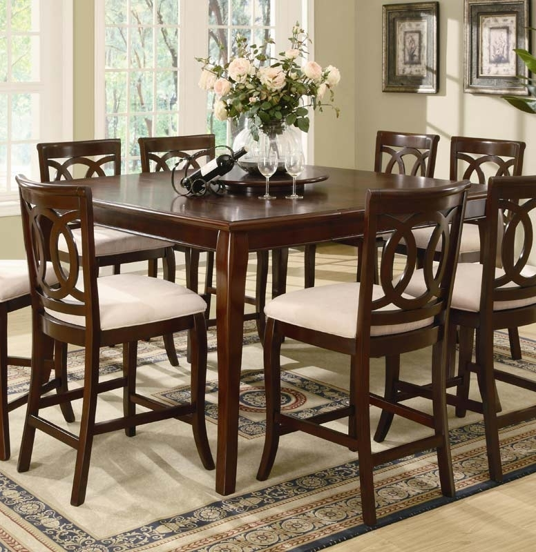 Coaster Caden Counter Height Table 102038 At Homelement Within Favorite Caden Rectangle Dining Tables (View 7 of 20)