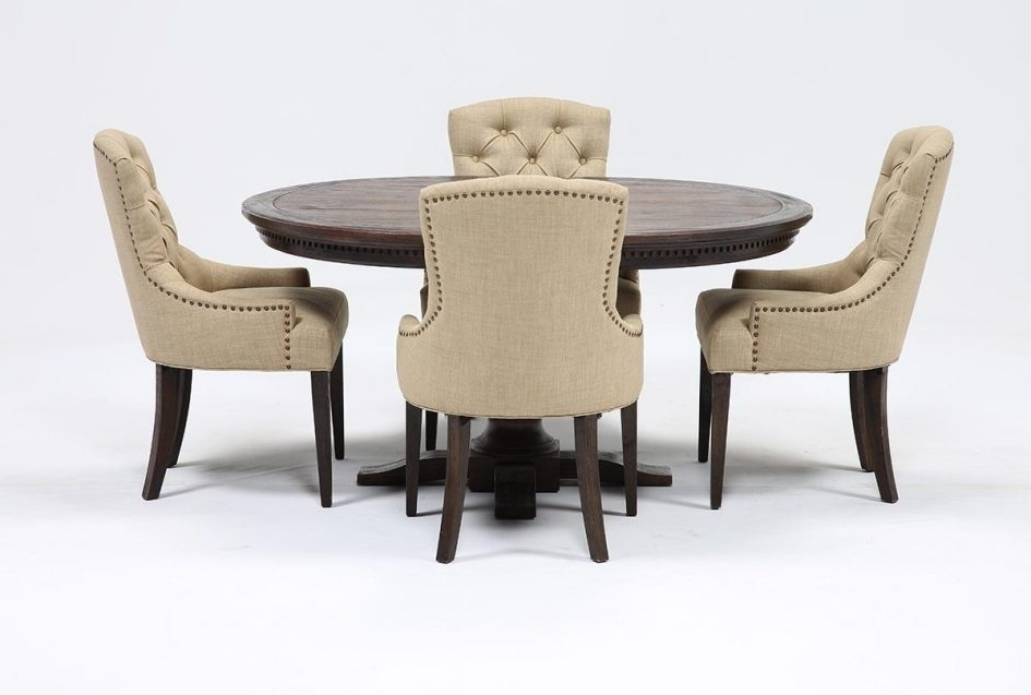 Coffee Table Pretty Jefferson 5 Piece Extension Round Dining Set Within Most Popular Jefferson Extension Round Dining Tables (View 4 of 20)