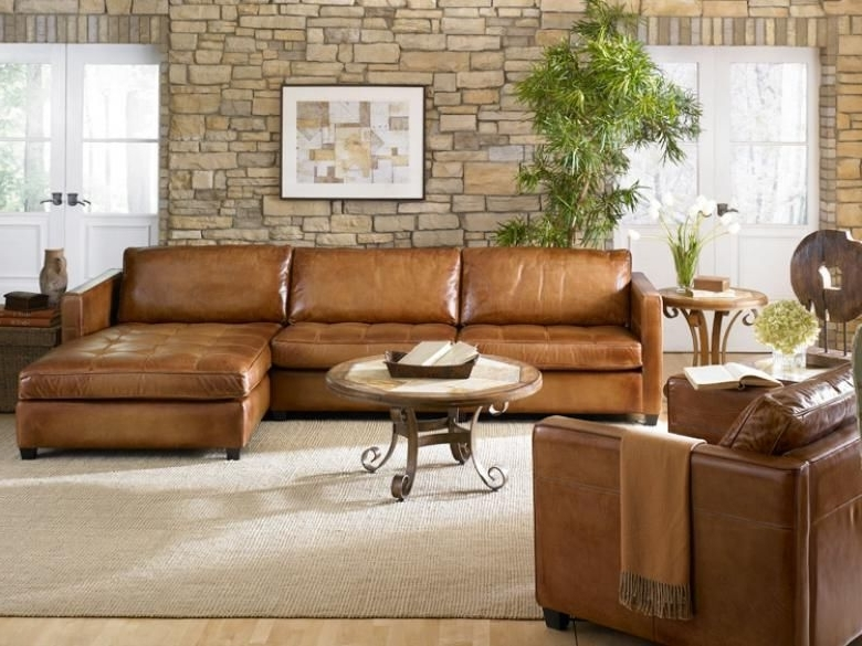 Cognac Sectional Sofa @ay13 – Roccommunity For Well Known Tenny Cognac 2 Piece Right Facing Chaise Sectionals With 2 Headrest (View 12 of 15)