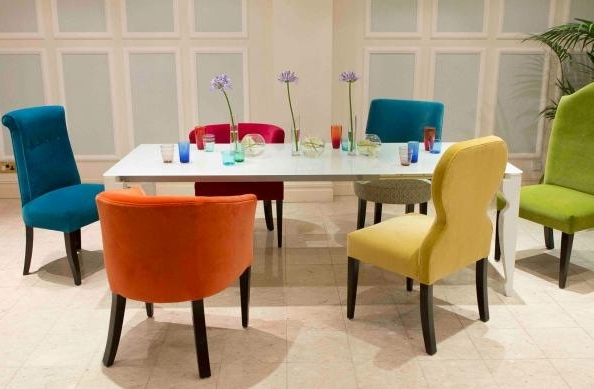 Colourful Dining Tables And Chairs Throughout Most Recently Released  (View 6 of 20)
