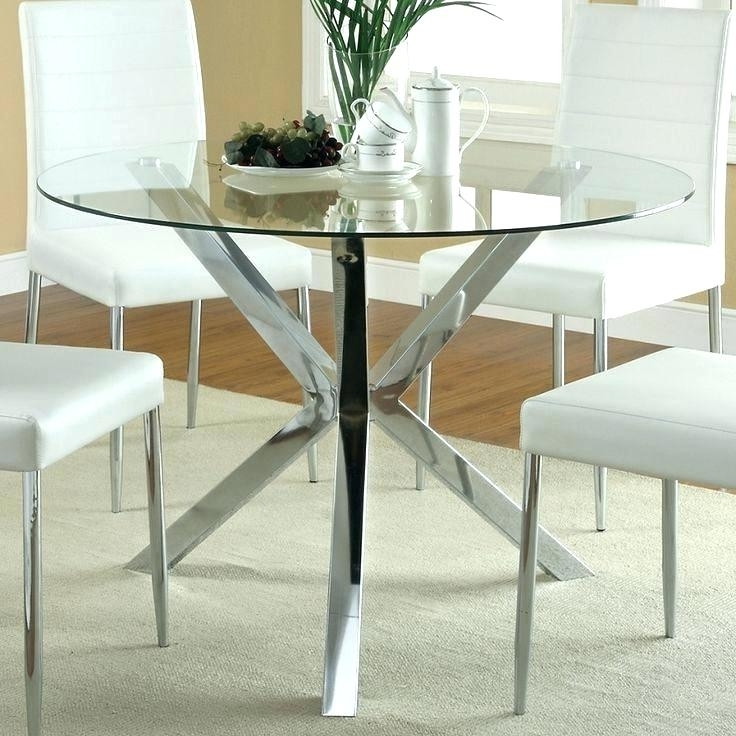 Combs 48 Inch Extension Dining Tables Intended For Fashionable 48 Inch Round Glass Table Top – Darog (View 17 of 20)