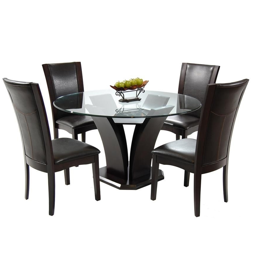 Combs 5 Piece Dining Sets With  Mindy Slipcovered Chairs In 2017 Daisy Brown 5 Piece Casual Dining Set (View 7 of 20)