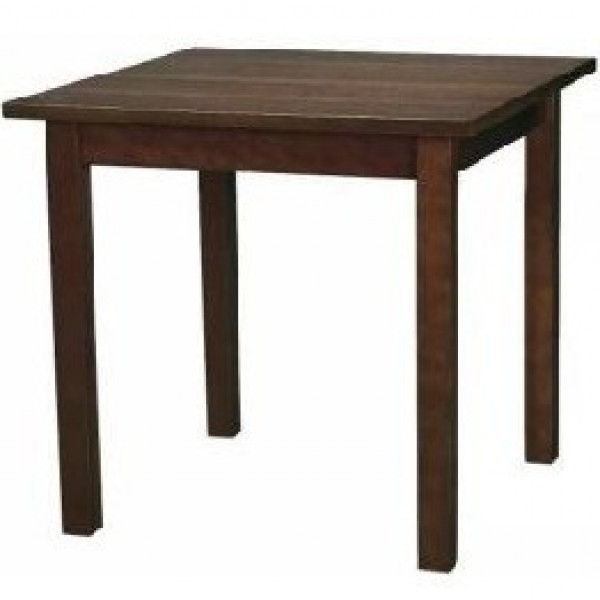 Commercial Wooden Restaurant Dining Tables – Dark Wood Dining Furniture Throughout Favorite Solid Dark Wood Dining Tables (View 16 of 20)