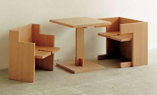 "Compact ""Cube"" Dining Table Set (View 1 of 20)"