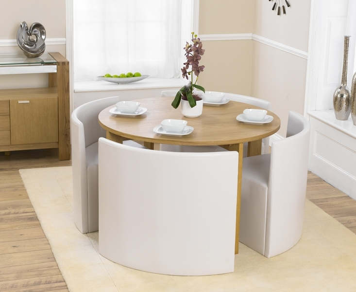 Compact Dining Room Sets Within Famous Dining Tables (View 4 of 20)