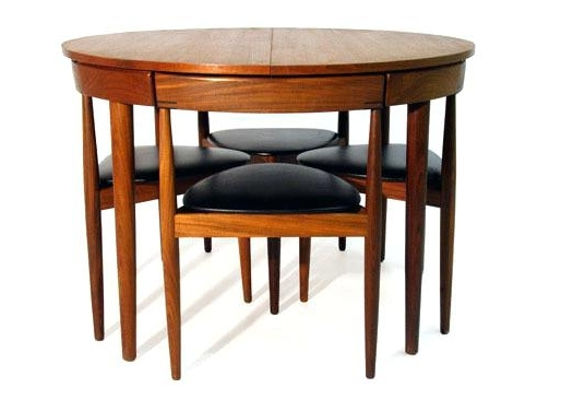 Compact Dining Table Sets Small Round Dining Table Set Round Dining Regarding Well Known Compact Dining Tables And Chairs (View 9 of 20)