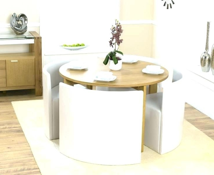 Compact Dining Table With Chairs Small Set Room Sets Kitchen And On Inside Best And Newest Compact Dining Sets (View 5 of 20)