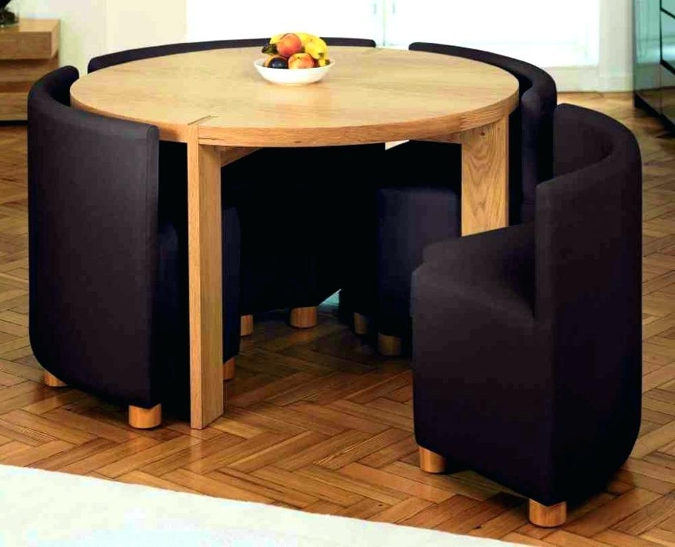 Compact Dining Tables And Chairs In Widely Used Foldable Dining Table And Chairs Dining Tables Comely Folding Dining (View 2 of 20)