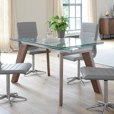 Contemporary Dining Room Furniture From Dwell For Extending Dining Sets (View 5 of 20)