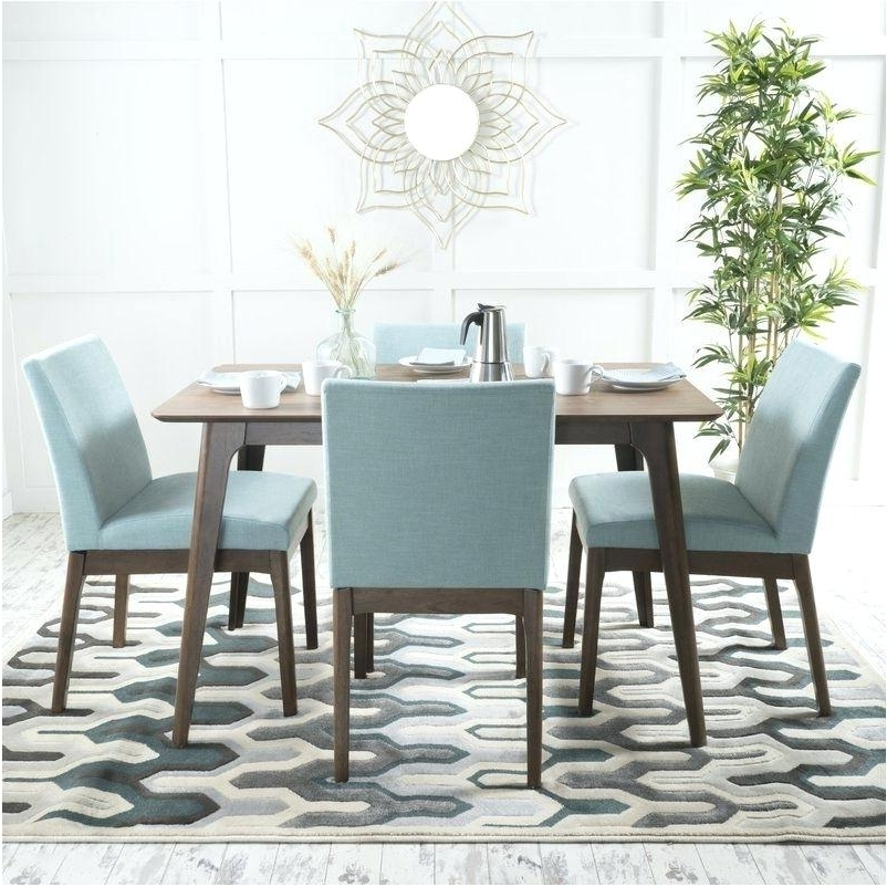 Contemporary Dining Sets Intended For Widely Used Contemporary Dining Table Sets – Melhore (View 6 of 20)