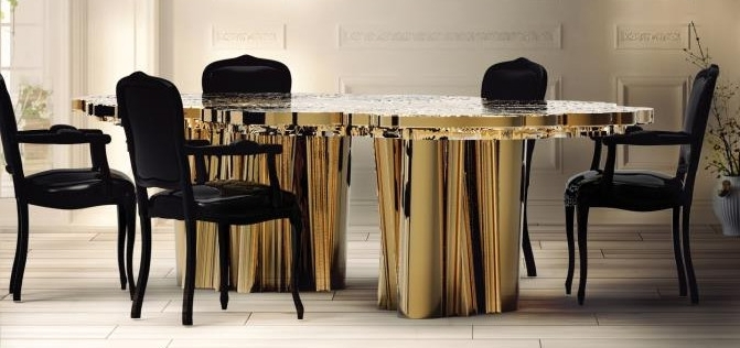 Contemporary Dining Tables (View 3 of 20)