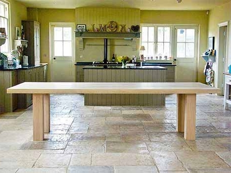 Contemporary Dining Tables Pertaining To Favorite Contemporary Dining Tables Oak & Walnut (View 6 of 20)