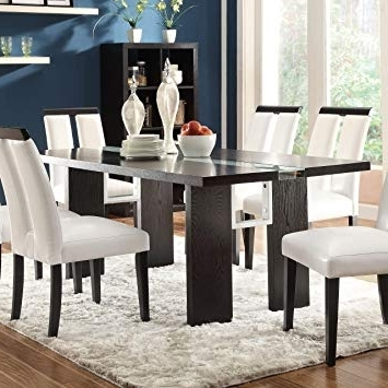 Contemporary Dining Tables Pertaining To Well Liked Amazon – Coaster Home Furnishings 104561 Contemporary Dining (View 7 of 20)