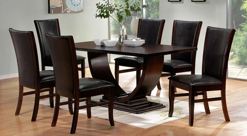 Contemporary Modern Dining Room Sets — Smart Architechtures : How To Throughout Most Popular Contemporary Dining Tables Sets (View 5 of 20)