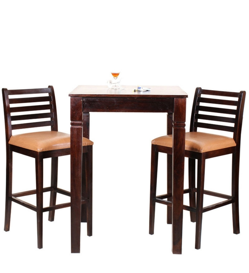 Cool Ideas Small 2 Seater Dining Table Revealing Kitchen Solid Oak Regarding Fashionable Two Chair Dining Tables (View 12 of 20)