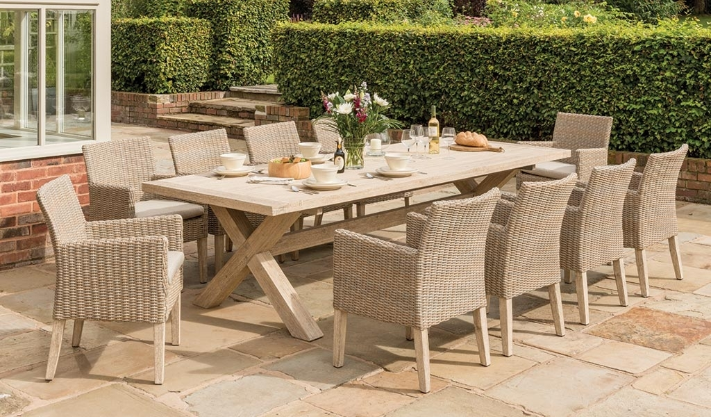Cora Dining Tables For Famous Cora Dining Table 280X110Cm – Kettler Official Site (View 2 of 20)