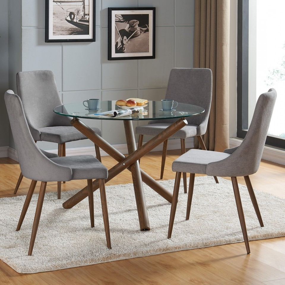 Cora Dining Tables With Regard To Newest Rocca/cora 5Pc Dining Set (View 7 of 20)