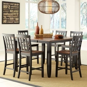 Costco: Somerset 7 Piece Counter Height Dining Set (View 5 of 20)