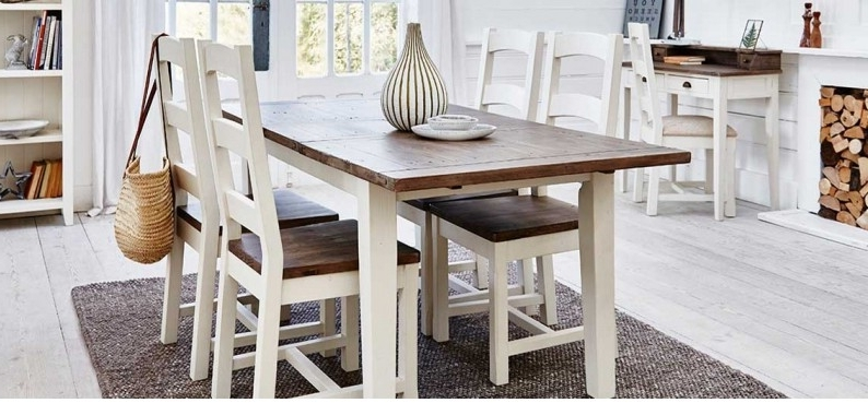 Cotswold Dining Tables Regarding Trendy 140Cm Ext Dining Table – Cotswold Dining Furniture (View 4 of 20)