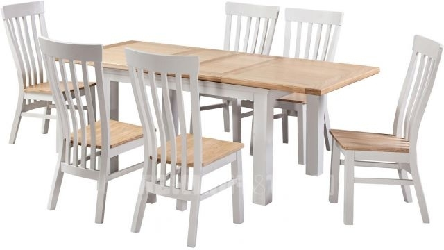 Cotswold Dining Tables Within Most Recently Released Homestyle Cotswold Painted And Oak  (View 8 of 20)
