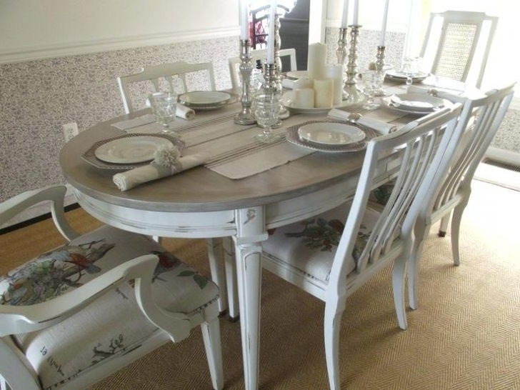 Country Dining Tables Inside Trendy Country Dining Table French Set In Antique White Finish 9 Home Decor (View 14 of 20)