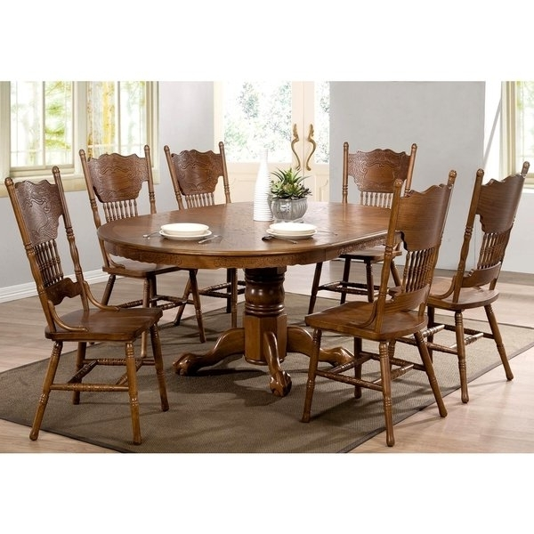 Country Dining Tables With Trendy Shop Bologna Windsor Country Dining Set – Free Shipping Today (View 17 of 20)