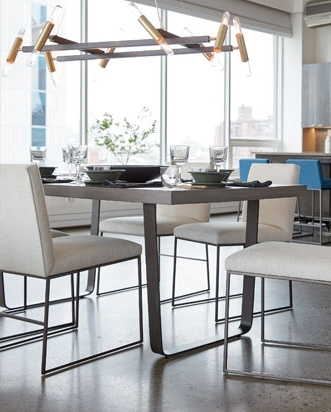 Craftsman 7 Piece Rectangular Extension Dining Sets With Arm & Uph Side Chairs Within Newest Shop Dining Room Furniture (View 4 of 20)