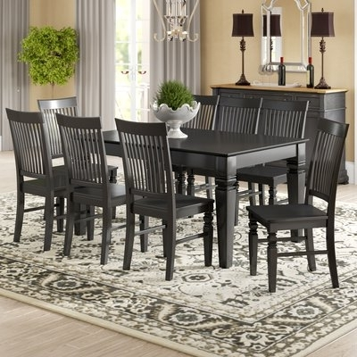 Craftsman 9 Piece Extension Dining Sets Regarding Most Recent Darby Home Co Beesley 9 Piece Extendable Dining Set In  (View 3 of 20)